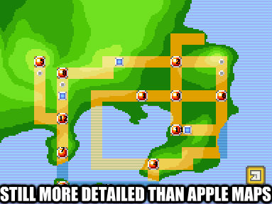 Still more detailed than Apple maps - Still more detailed than Apple maps  oldschool maps