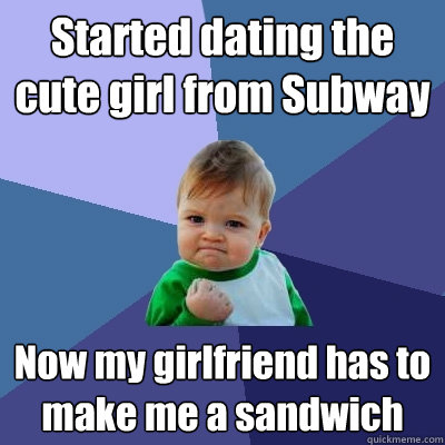 Subway dating