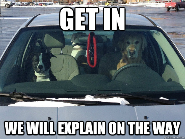 Get in We will explain on the way - Get in We will explain on the way  Misc