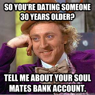 Dating 30 years older