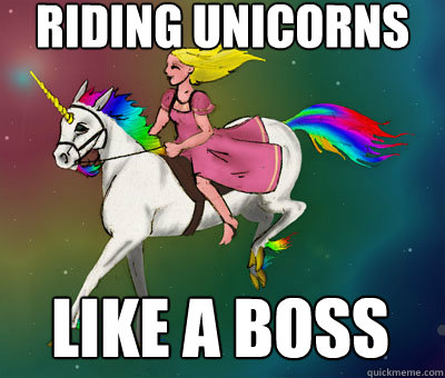 Riding unicorns like a boss  - Riding unicorns like a boss   Flying Beast Rainbow Unicorn