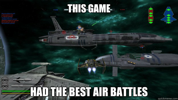 This game had the best air battles