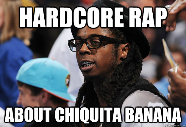Hardcore Rap About Chiquita Banana