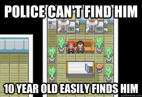 Police can't find him 10 year old easily finds him - Police can't find him 10 year old easily finds him  Misc