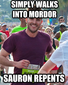 Simply walks into Mordor Sauron repents - Simply walks into Mordor Sauron repents  Ridiculously photogenic guy