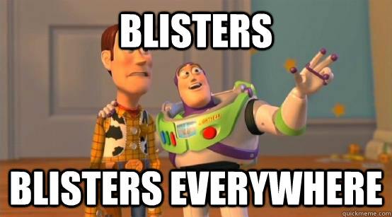 Blisters blisters everywhere - Blisters blisters everywhere  Misc