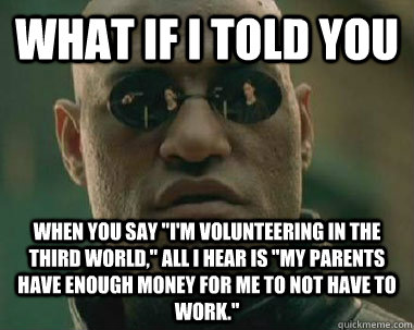 what if i told you when you say