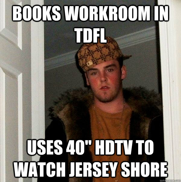 books workroom in tdfl uses 40