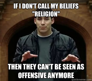 If I don't call my beliefs