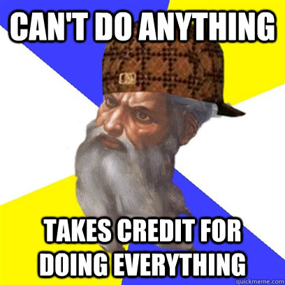 Can't Do anything takes credit for doing everything
