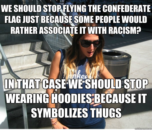 We Should Stop Flying The Confederate Flag Just Because Some People