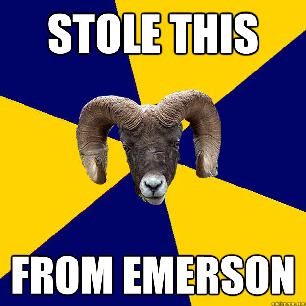 STOLE THIS FROM EMERSON Caption 3 goes here  Suffolk Kid Ram