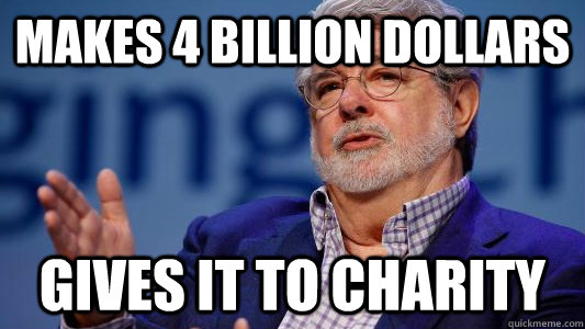 Makes 4 Billion Dollars Gives it to Charity - Makes 4 Billion Dollars Gives it to Charity  Good Guy George