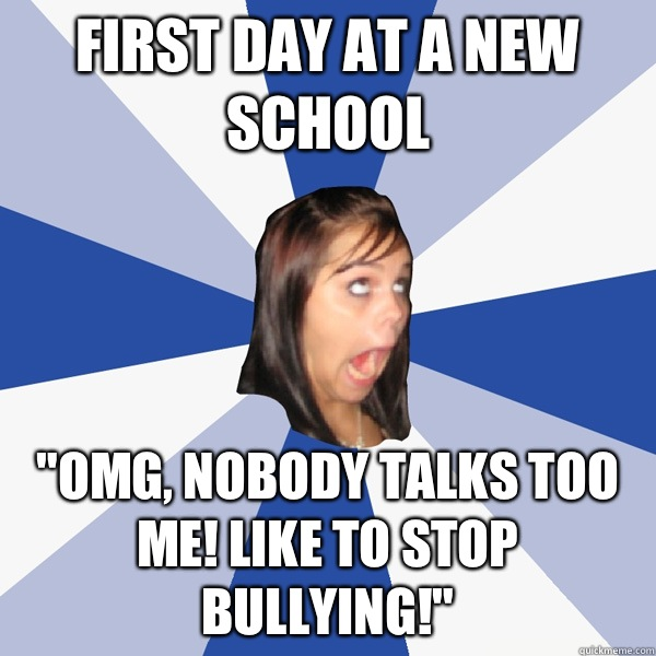first day at a new school