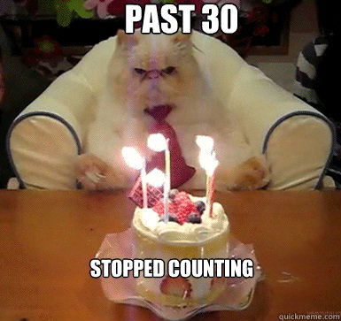 Past 30 Stopped counting