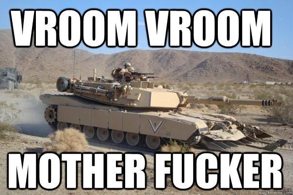 VROOM VROOM MOTHER FUCKER - VROOM VROOM MOTHER FUCKER  Bradleyccox