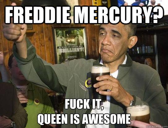 freddie mercury fucked i