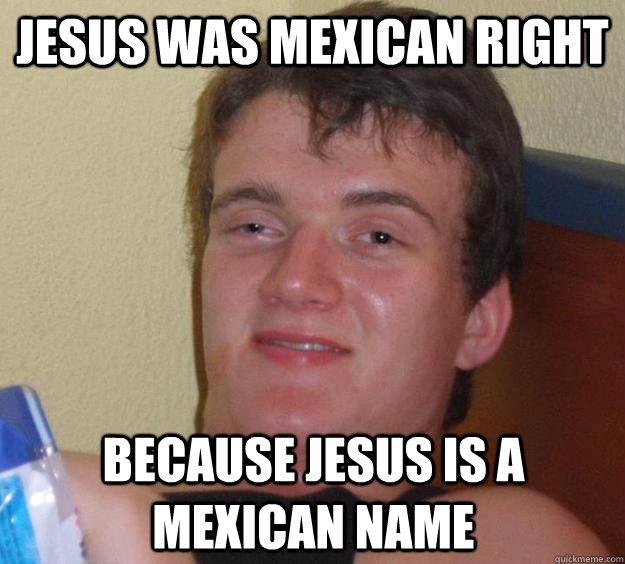 Mexican Jesus Meme for Pinterest