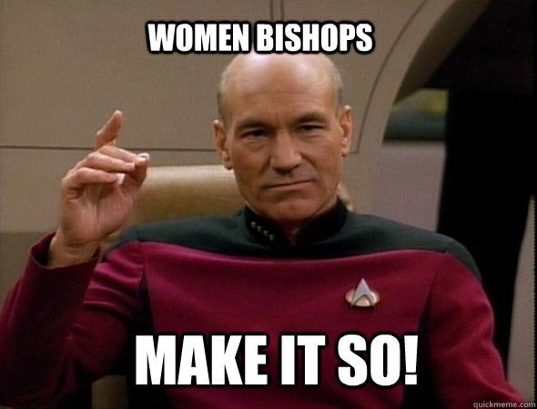 women bishops make it so!