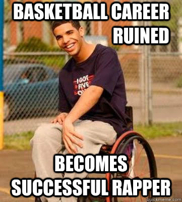 Basketball career ruined Becomes Successful rapper - Basketball career ruined Becomes Successful rapper  Wheelchair Drake
