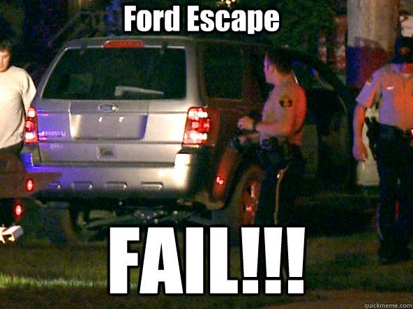 Ford Escape Fail